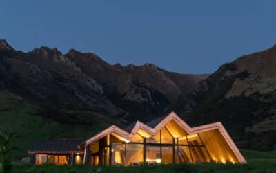 A Luxury Alpine Retreat That's a Work of Art